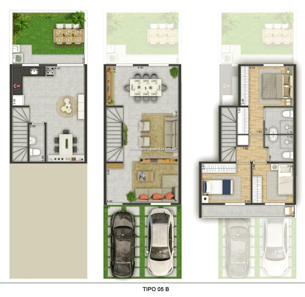 Casa em Condomínio venda Parque Santa Rosa Suzano